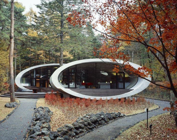 Dom w lesie - architektura wbrew konwencjom