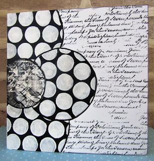 July's Creative Team Challenge - Black and White on The Artistic Stampers Blog #artisticstamper #blackandwhite #monochromatic #flowers #challenge #acrylic #stamping #cards #create #handmade