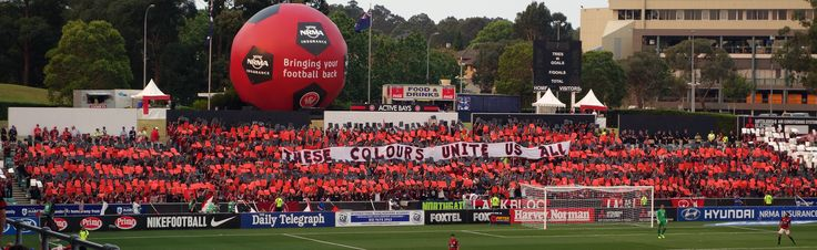 These Colours Unite Us All. Western Sydney Wanderers