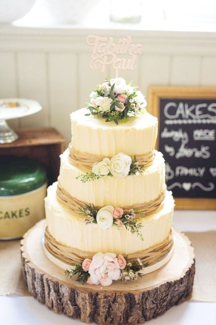 22 of the Top Elegant Fall Wedding Cake Inspirations with Flowers ...