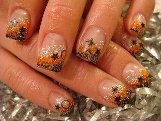 Acrylnagelkunst lila silberner Glitter #acrylicnaildesigns   – acrylic nail shapes