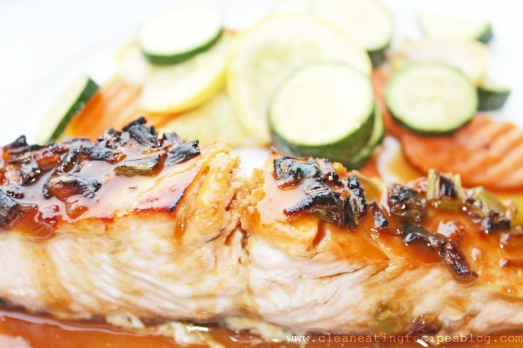 Clean eating recipe sweet ginger glazed salmon clean for Cleanest fish to eat