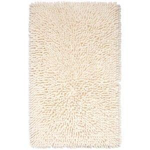 Badteppich in frischen Farben. Weich, saugfähig und Trockner geeignet. Trend-Teppich mit Latex beschichteter Unterseite. Erhältlich in 4 Farben.