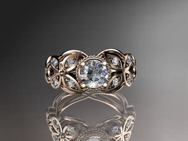 Butterfly Wedding Rings Jewelry Ideas