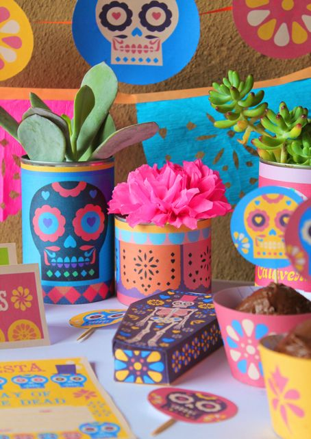 282 best dia de los muertos 2 images on pinterest sugar for Day of the dead craft supplies