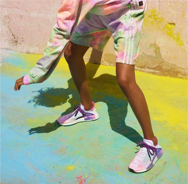 Hu Holi Powder Dye: Adidas Originals X Pharrell Williams