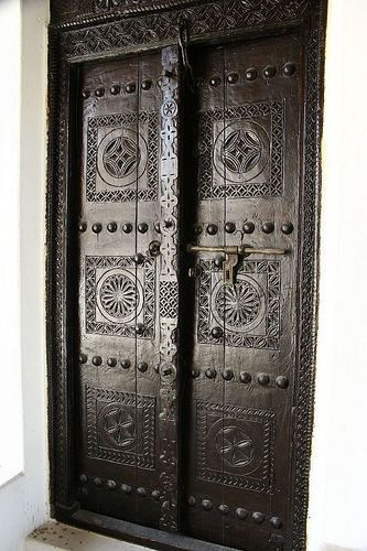 Ebony Door, Kerala in 1950, At the Ajman Museum, India: