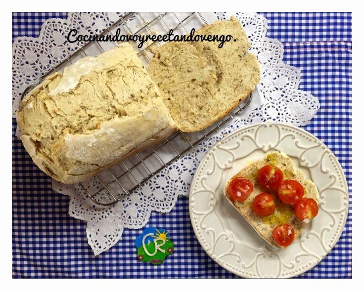 Pan de ajo, orégano y estragón