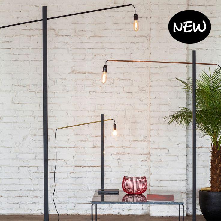 Stalamp 'Flamingo' L - Serax - Te koop via: https://www.livingdesign.be/nl/producten/detail/stalamp-flamingo-s-serax