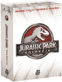 Kolekcja: Park Jurajski (DVD) - Spielberg Steven za 92,99 zł   Filmy empik.com