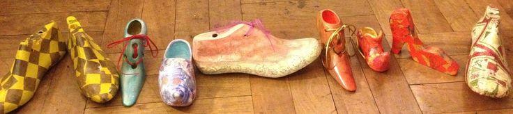zapatos de distintas técnicas