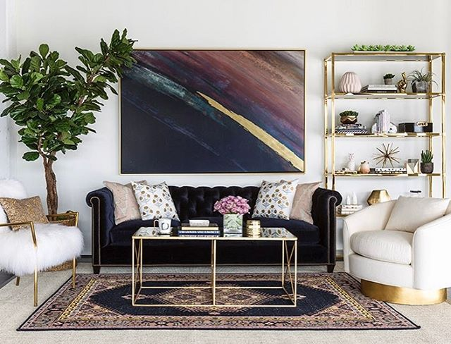 """1,807 Likes, 30 Comments - High Fashion Home (@highfashionhome) on Instagram: """"5 reasons to love our William Sofa in Navy Vernon: 1. Comfortable, classic and timeless frame that…"""""""