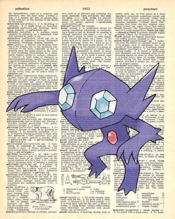 Sableye Pokemon Dictionary Art Print by MollyMuffinsPrints on Etsy