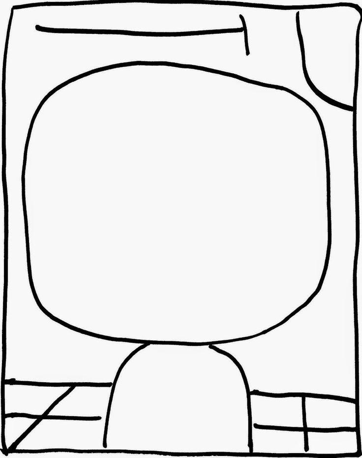 21 best paul klee for kids images on pinterest paul klee for Paul klee coloring pages