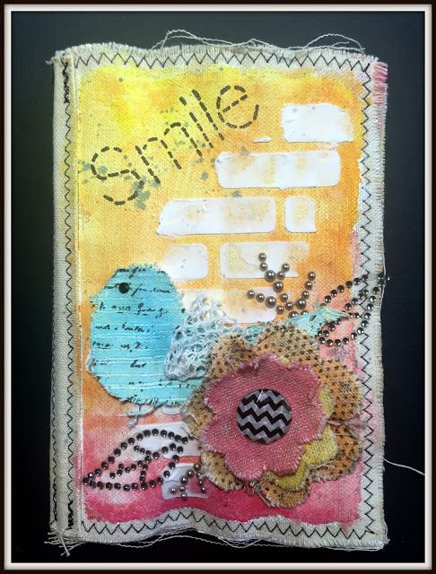 Rochelle Spears: Faber Castell & Linnie Blooms Blog Hop