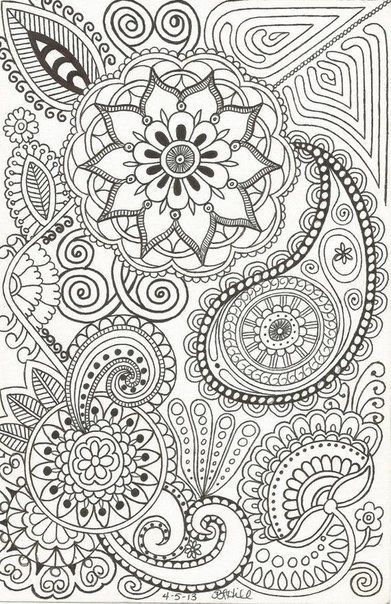 51 best mandalas für Erwachsene images on Pinterest | Coloring books ...