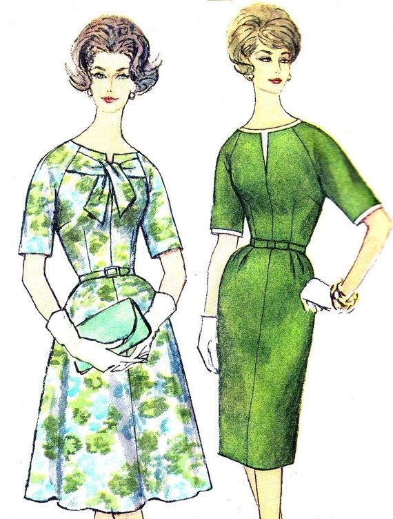Vintage Sewing Pattern 1960s Simplicity 3757 Mad by paneenjerez, $12.00 by Kharis