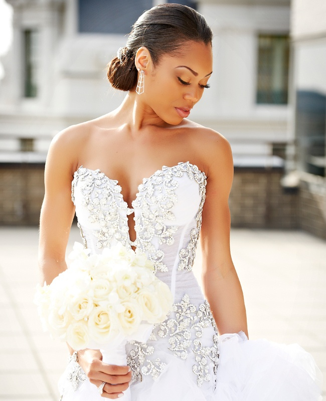 classic wedding hair updo / / Regeti's Photography