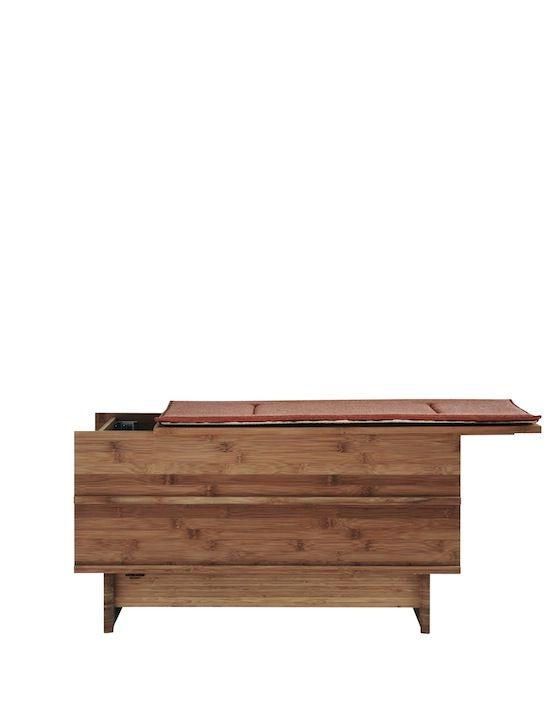 We Do Wood Correlations - Bænk med opbevaring - Tinga Tango Designbutik