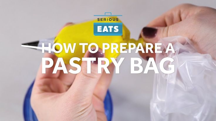 How to Prepare a Pastry Bag