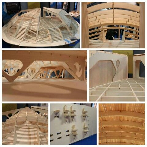 #Octagon, #typhoon resistant know-#house Now at #MakerFaire #Rome, stand P55... join us!  #architecture #digitalfabrication #openknowledge #MKF15