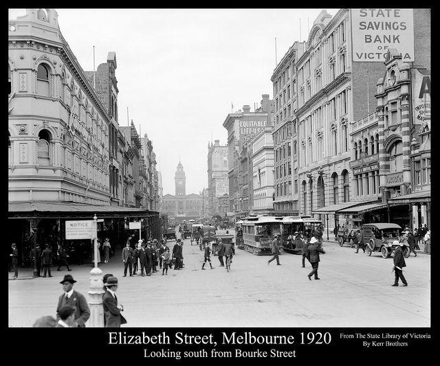 Elizabeth Street, Melbourne 1916 | Flickr - Photo Sharing!