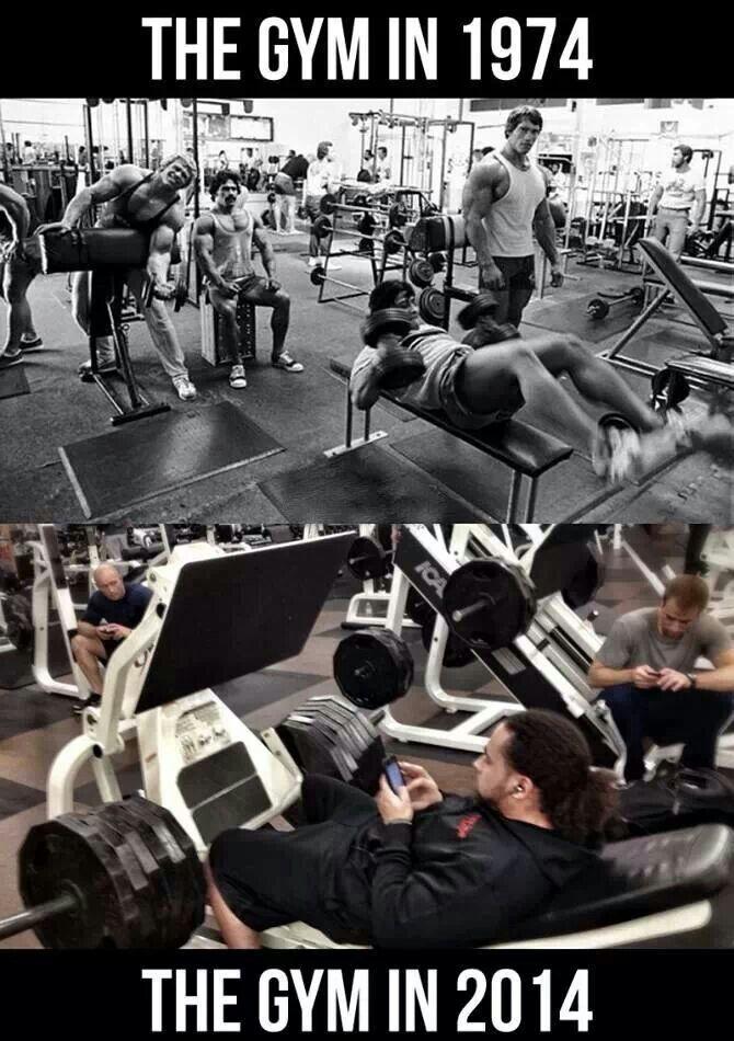 Gym Generation Gap