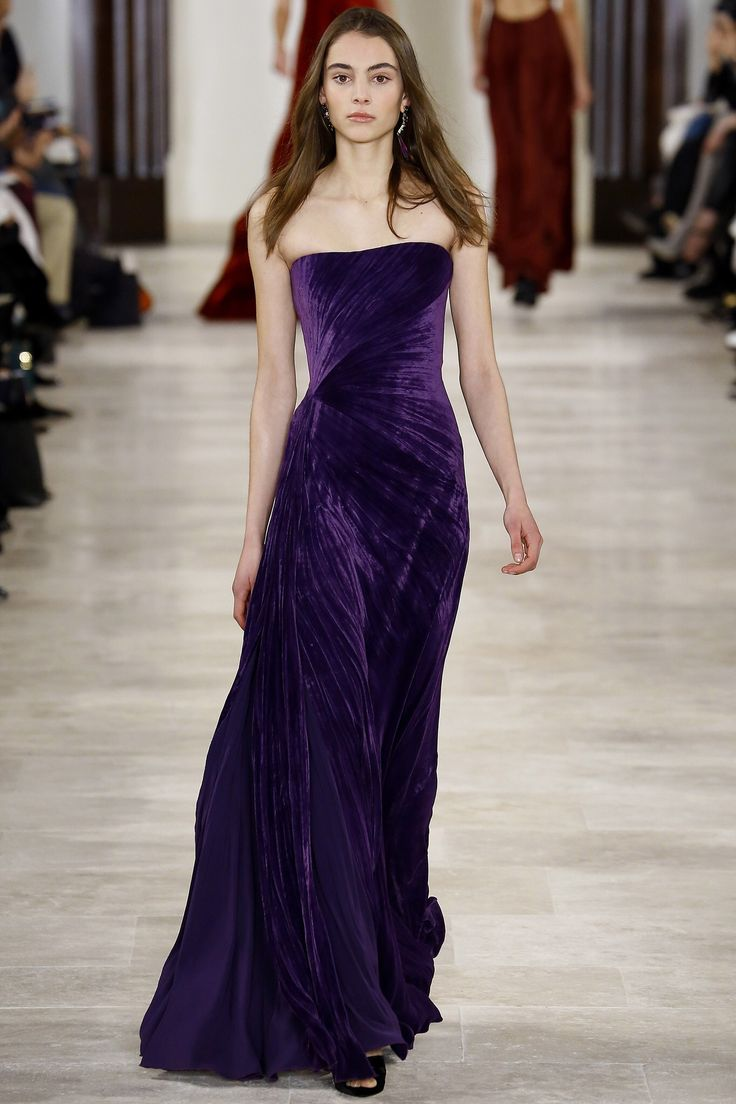 Evening Gowns Runway