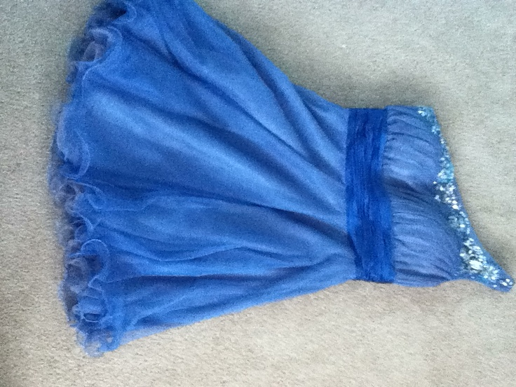 My grad dress. Macy's.