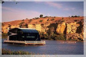 Houseboats on the River Murray, South Australia