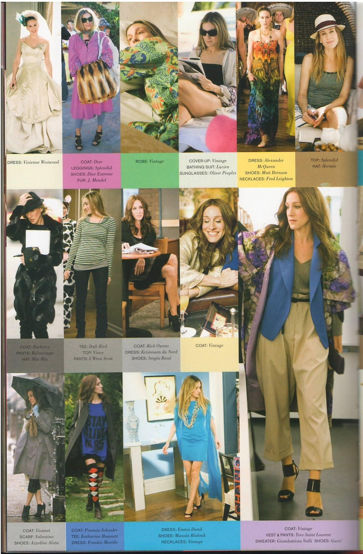 Carrie Bradshaw wardrobe - Sex And The City Movie