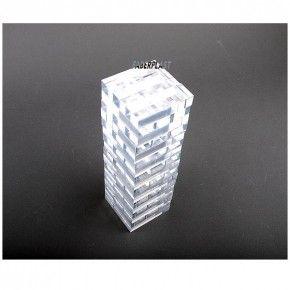 JENGA DE METACRILATO (Plexiglas – PMMA ) TRANSPARENTE - Faberplast Shop