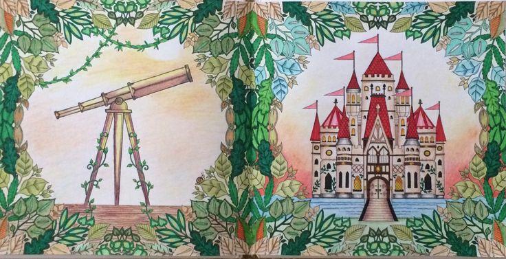 """Джоанна Бэсфорд """"Зачарованный лес"""""""