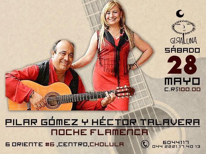 """Sábado 28: Pilar Gómez y Héctor Talavera con """"Noche flamenca"""""""