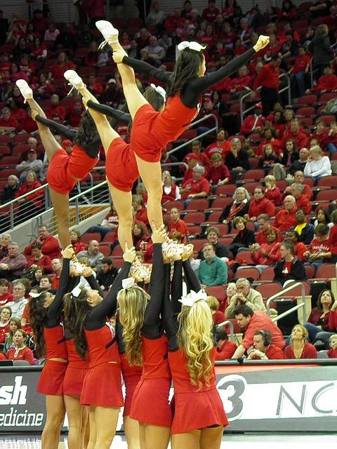 West Virginia University v The University of Louisville Women's Basketball by triceratopscowboy, via Flickr