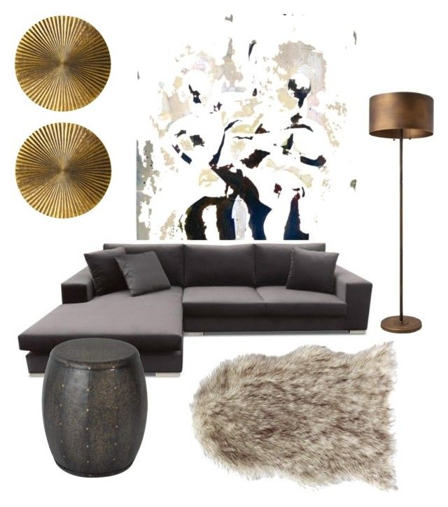 """Faux tribe"" by olesya85 on Polyvore featuring interior, interiors, interior design, home, home decor, interior decorating and Arteriors"