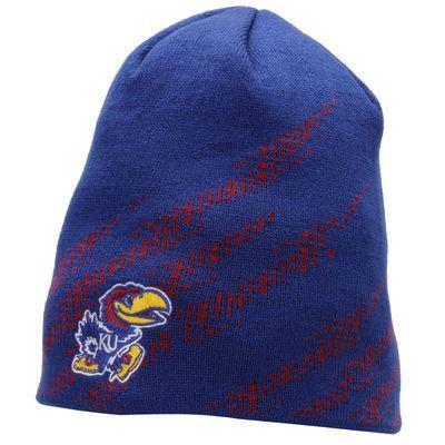 Kansas Jayhawks adidas Aftershock Beanie – Royal Blue
