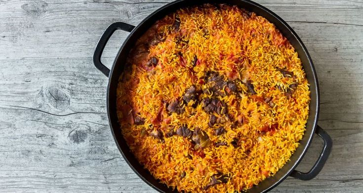 Persian Pilaf with Lamb