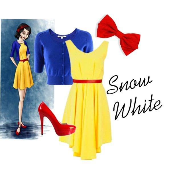 Snow White Modern Outfit #2 by iwantfd on Polyvore featuring moda, Carven, Black & Brown London and modern