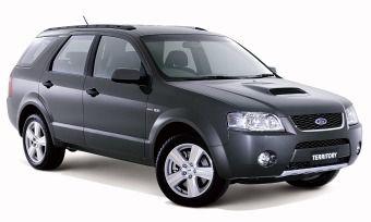 Ford Territory Turbo, Hammerhead, Ford of Australia, Broadmeadows, 2006