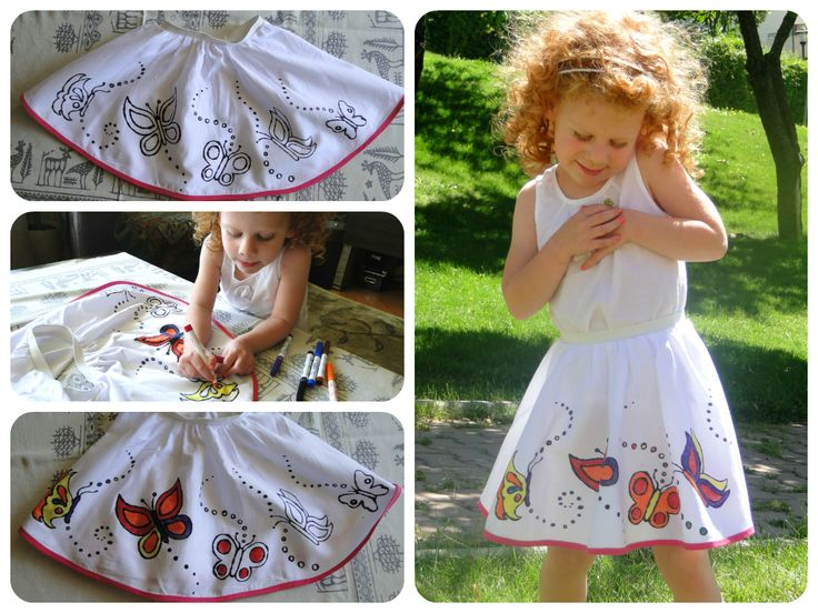 My Little Butterfly. Children clothing