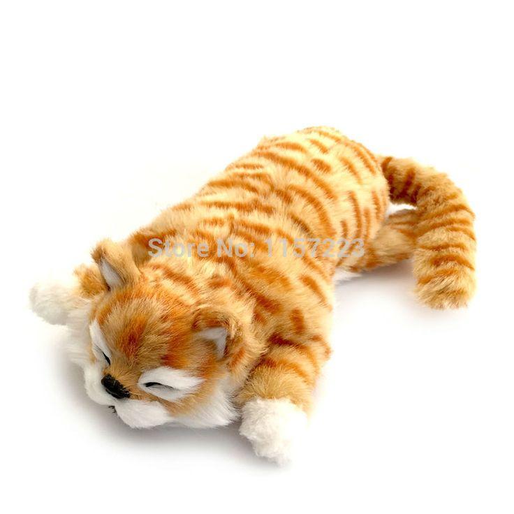 Nieuwe aankomst Grappige lachende Kat Roll Elektronische Huisdier Speelgoed Simulatie Dier Robot Katten gift voor Kind 30 cm