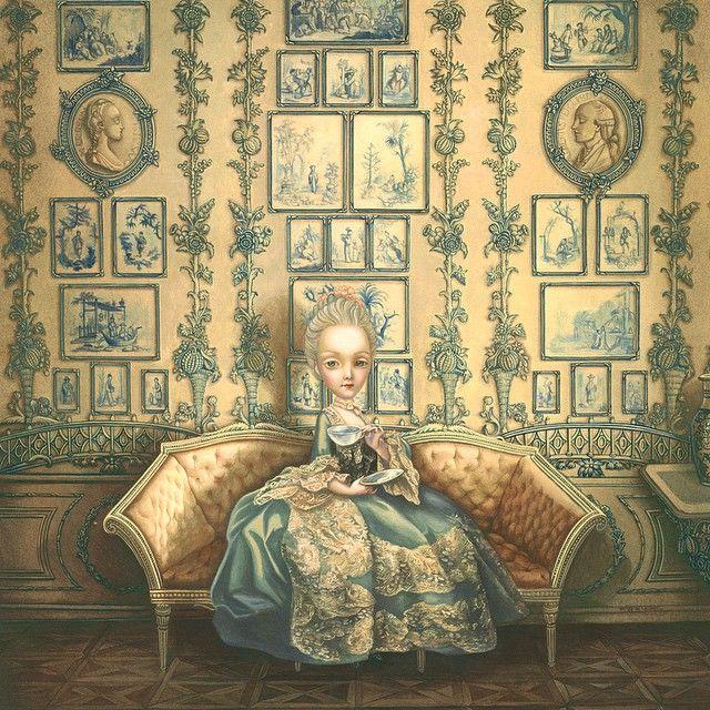 María Antonieta - Benjamín Lacombe.