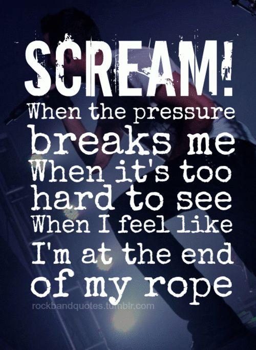 Thousand Foot Krutch - Scream