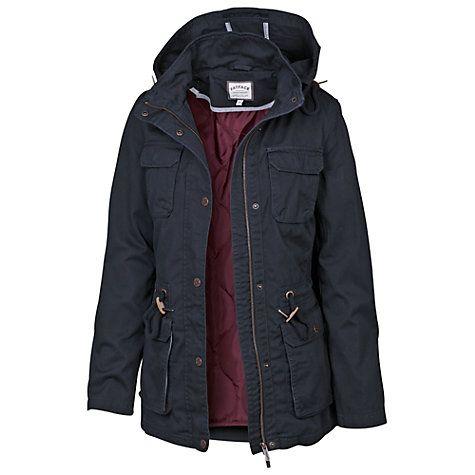 Buy Fat Face Evesham Hooded Jacket Online at johnlewis.com