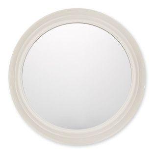 Riley Round Mirror - Cream