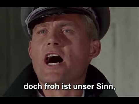 """- You Tube - 2:32 min - From Movie Picture - """" Panzerlied """" - HQ / subtitles - Battle of the Bulge"""