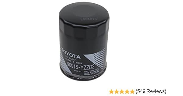 Car Oil Filter Toyota Genuine Oil Filter Toyota Oils