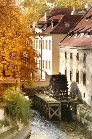 go2prague.com Kampa Island, Prague. Prague's own Little Venice