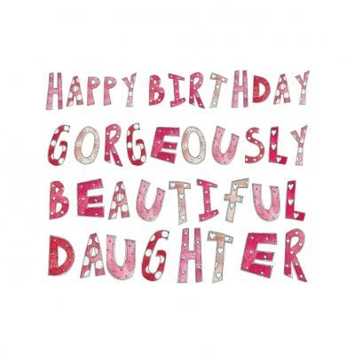 Happy Birthday my gorgeously beautiful daughter! <3    @Karen Jacot Darling Space & Stuff Blog Alfaro